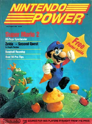 Nintendo Power Issue 1 Cover